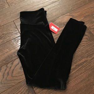Spanx Velvet Black Leggings 2070